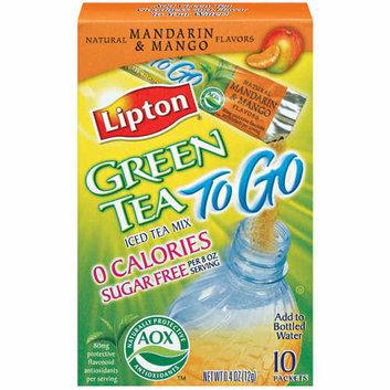 Lipton Green Tea To Go Mandarin & Mango Sugar Free Iced Tea Mix