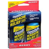 Goody's Headache Relief Shot, Berry, 2 ea