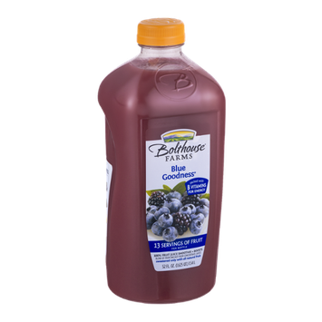 Bolthouse Farms 100% Fruit Juice Smoothie + Boosts Blue Goodness