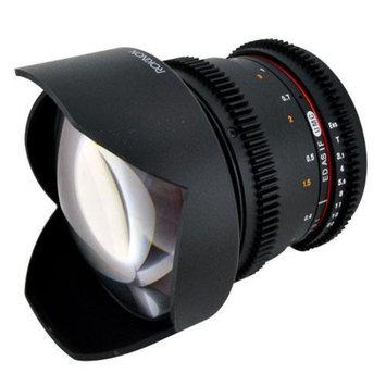 Rokinon 14mm T3.1 Cine Lens for Nikon F-Mount + Lens Band (Black) plus Accessory
