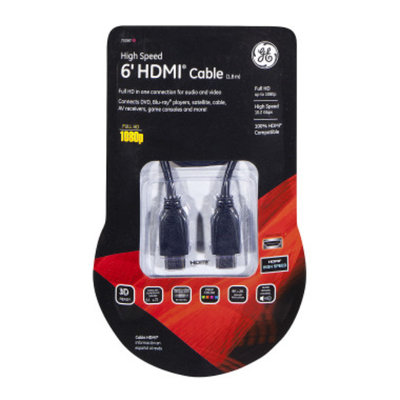 General Electric GE HDMI Cable