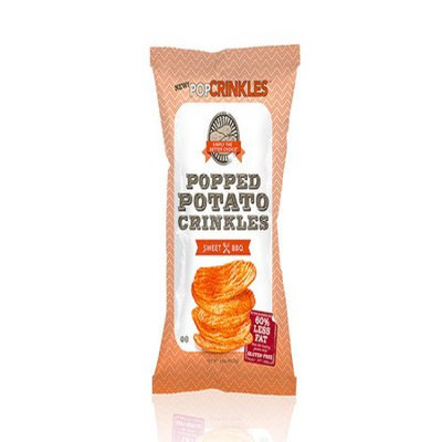 PopCrinkles Popped Potato Crinkles Sweet BBQ 3.5 oz
