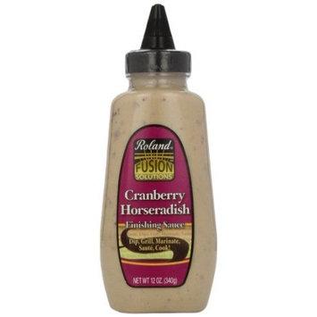 Roland Cranberry Horseradish Finishing Sauce, 12-Ounce Bottles (Pack of 3)