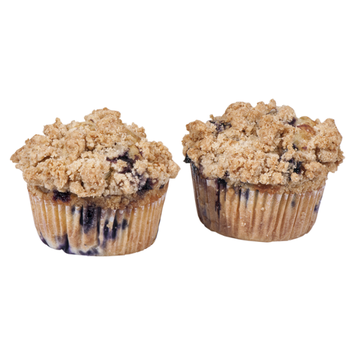 Hot Cakes Bakery Muffins Country Blueberry - 2 CT