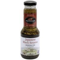 Snapdragon Japanese Black Sesame Vinaigrette, 10.1-Ounce Bottles (Pack of 6)