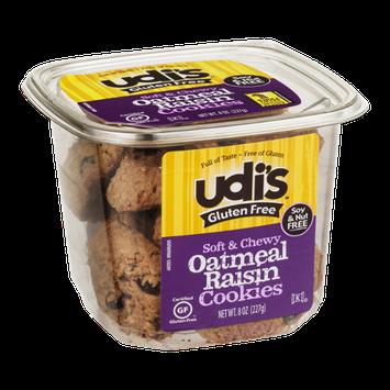 Udi's Gluten Free Soft & Chewy Oatmeal Raisin Cookies