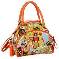 Kalencom Bellisima Sponge Nylon Continental Flair Bag, Hannah's Paisley (Discontinued by Manufacturer)