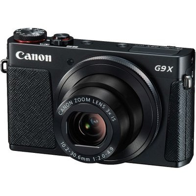 Canon PowerShot G9 X Wi-Fi Digital Camera (Black)