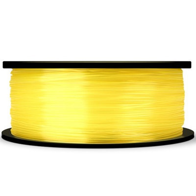 MakerBot PLA Filament Spool, MP05766, Large, Translucent Yellow, 1.75mm
