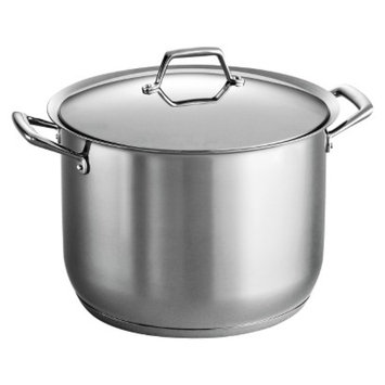 Tramontina Gourmet Prima 16 Quart Tri-Ply Base Covered Stock Pot