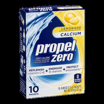 Propel Zero Calcium Lemonade - 10 CT