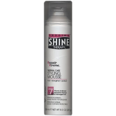 Smooth 'N Shine Therapy Repair Xtreme Styling Mousse Factor #7 8.5 fl oz