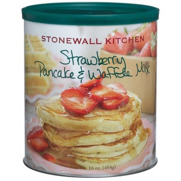 Stonewall Kitchen Strawberry Pancake & Waffle Mix, 16-Ounce Cans (Pack of 3)