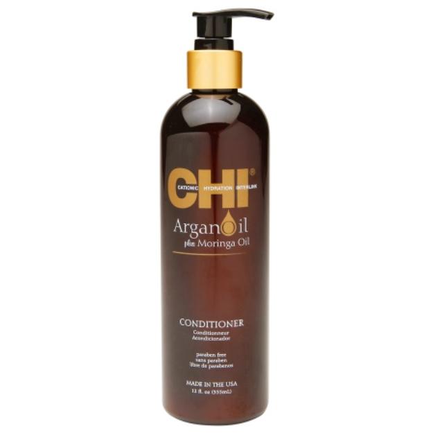 CHI Argan Oil Plus Moringa Oil Conditioner, 12 fl oz