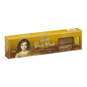 Gia Russa 100% Whole Wheat Spaghetti
