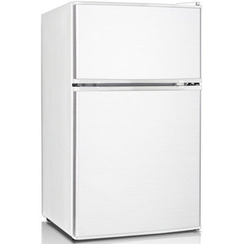 Keystone Energy Star 3.1 Cu. Ft. Compact 2-Door Refrigerator/Freezer, White, KSTRC312CW