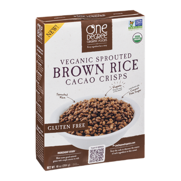 One Degree Organic Foods Brown Rice Cacao Crisps