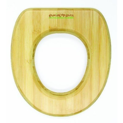Ginsey Growing Up Green Potty Seat, Natural (Discontinued by Manufacturer)