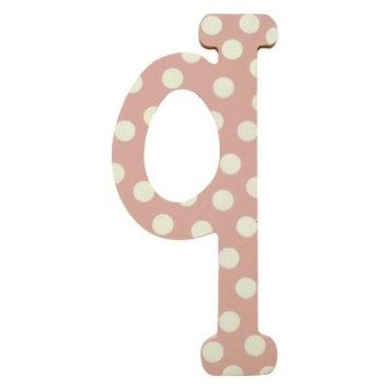 My Baby Sam Pink Polka Dot Letter - q