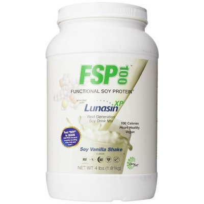 Carefast FSP100 Functional Natural Vanilla Soy Protein with Lunasin XP, 4-Pounds