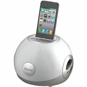 iHome Iphone Ipod Led Color Changing Stereo System With Passive Subwoofer