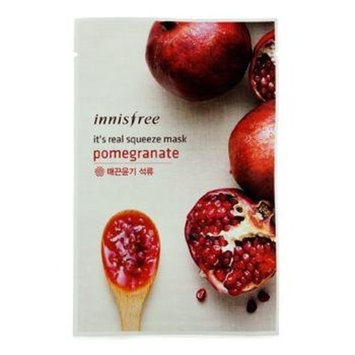 Innisfree It's Real Squeeze Mask 5pcs (Pomegranate)