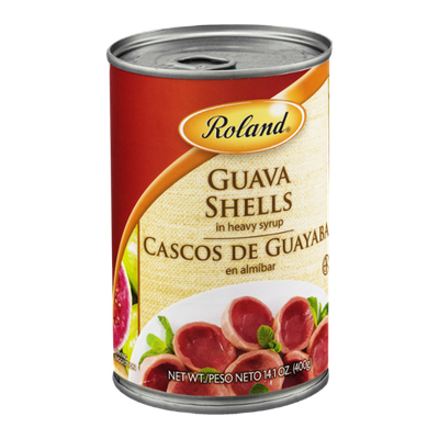Roland Guava Shells in Heavy Syrup