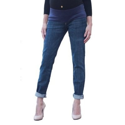 Iberia Current-Elliott Maternity Jeans : The Roller - Empire