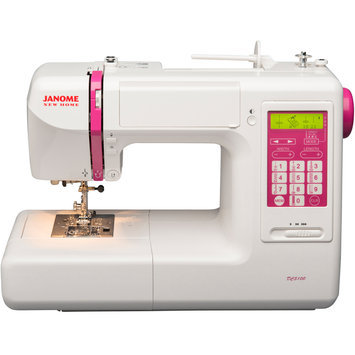Janome DC5100 Computerized Sewing Machine with Circular Sewing Attachment