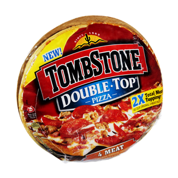 Tombstone Double-Top 4 Meat Pizza