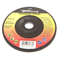 Forney 71876 Grinding Wheel with 5/8-Inch Arbor Metal Type 27 A24R-BF 4-Inch-by-1/4-Inch