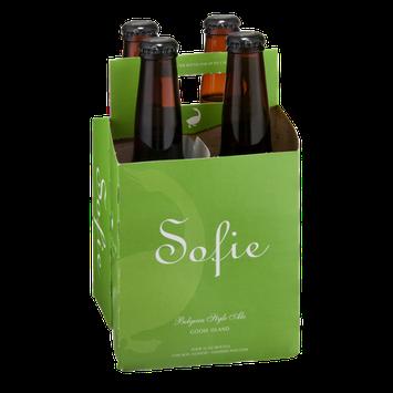 Goose Island Sofie Belgian Style Ale - 4 PK