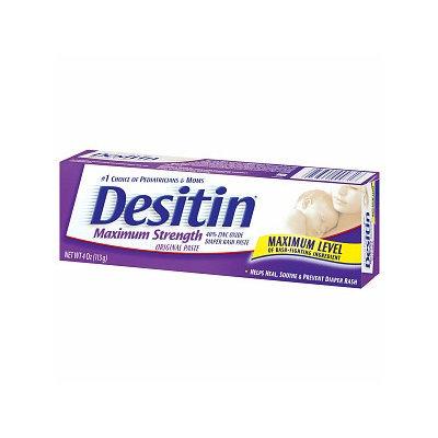 Desitin Diaper Rash Maximum Strength Original Paste