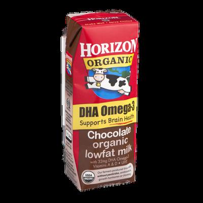 Horizon Organic DHA Omega-3 Organic Lowfat Milk Chocolate