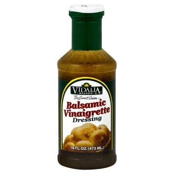 Vidalia Brand Sweet Onion Balsamic Vinaigrette Dressing, 16-Ounce (Pack of 3)