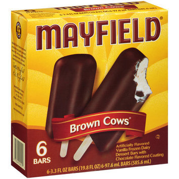 Mayfield Brown Cows Ice Cream Bars