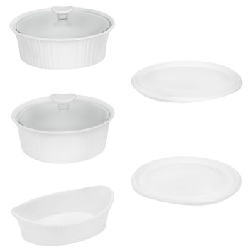 World Kitchen, Inc. WORLD KITCHEN, INC. Corningware French White 7 piece bakeware set - WORLD KITCHEN, INC.