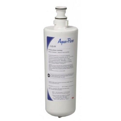 AquaPure C-CS-FF Replacement Cartridge Water Filtration Under Sink Filter; White