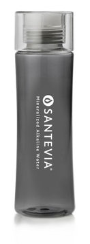 Santevia Tritan Water Bottle Black 20 oz Santevia 1 Bottle