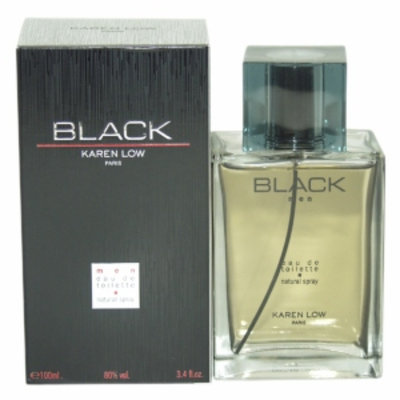 Karen Low Black Eau de Toilette Spray, 3.4 fl oz