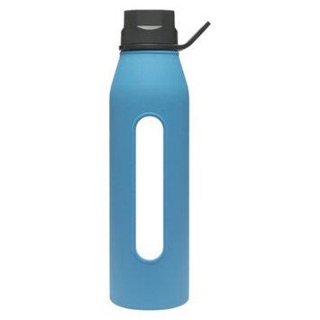 Takeya Classic 22 oz Glass Bottle - Colbalt Blue/Black