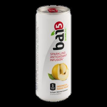 Bai 5 Bubbles Spartkling Antioxidant Infusion Indonesia Nashi Pear