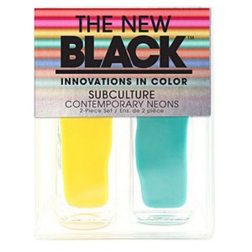 The New Black Subculture Contemporary Neons 2-Piece Set