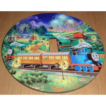 THOMAS THE TANK ENGINE Light switch Cover 5 Inch Round (12.5 cms) Switch plate Switchplate