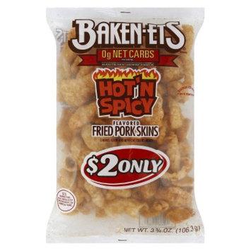 Bakenets Baken-Ets Hot 'n Spicy Fried Pork Skins 3.75 oz