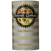 Poppies Poppie's Cookies Cowboy Thundercluster, 8-Ounce Canisters (Pack of 4)