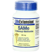 Life Extension SAMe, 200 Mg, Tablets, 50-Count