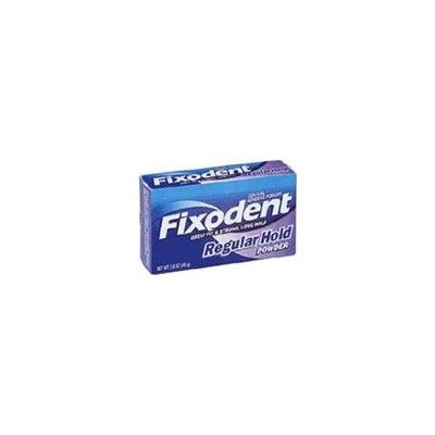 FIXODENT POWDER REGULAR HOLD 1.6 OZ