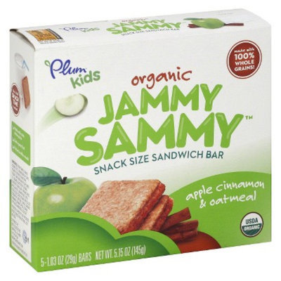 Plum Kids Organic Jammy Sammy Snack Size Sandwich Bar