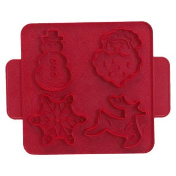 Nordic Ware Holiday Cookie Cutter Plaque